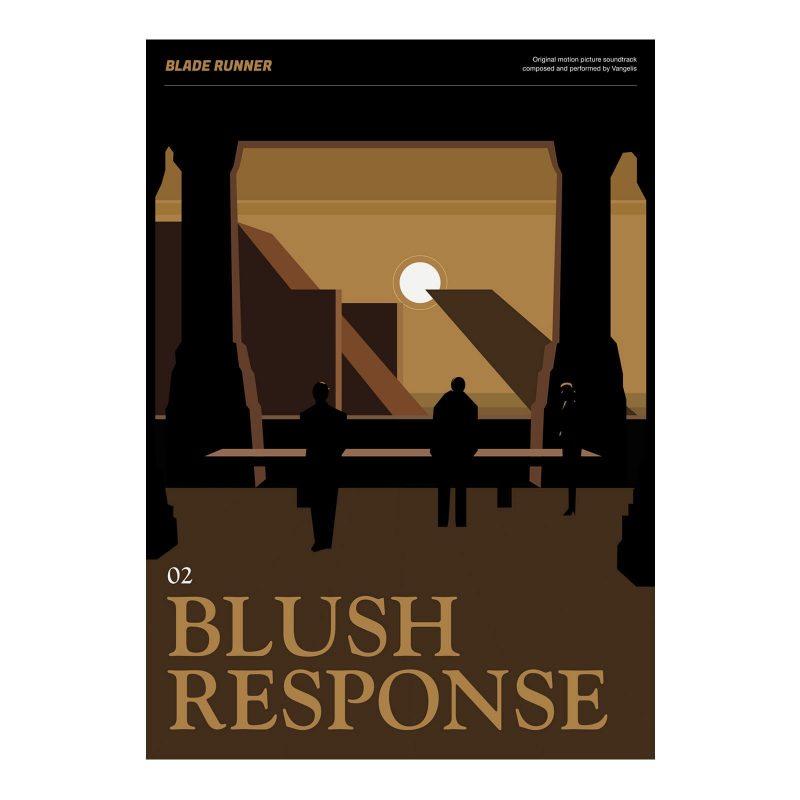 Blade Runner Poster - Blush Response