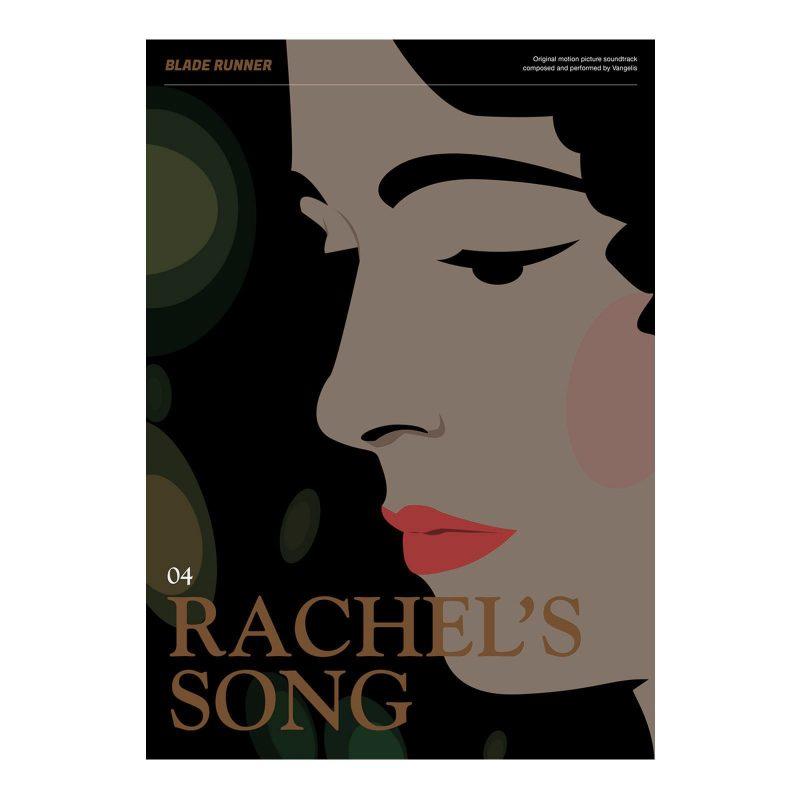 Blade Runner Poster - Rachel's Song