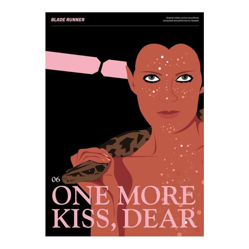 Blade Runner Poster - One More Kiss Dear