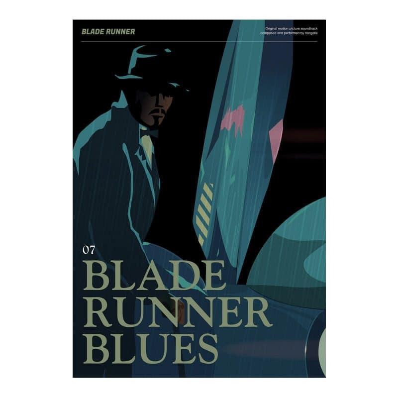 Blade Runner Poster - Bladerunner Blues