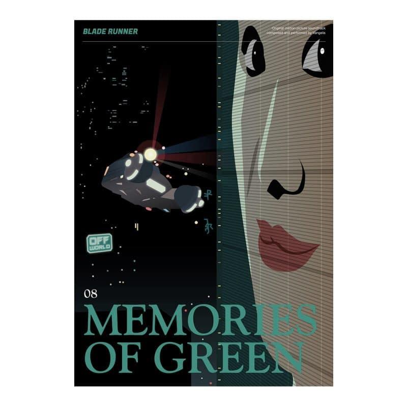 Blade Runner Poster - Memories of Green