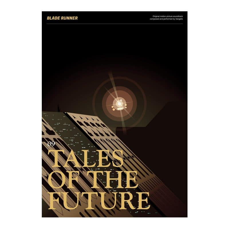 Blade Runner Poster - Tales of the Future