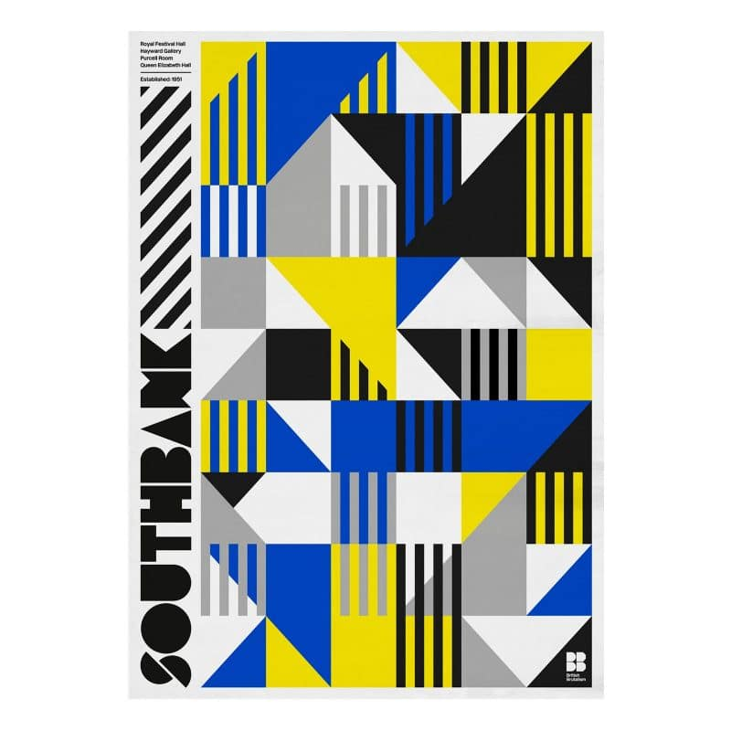 Southbank Graphic Art Print